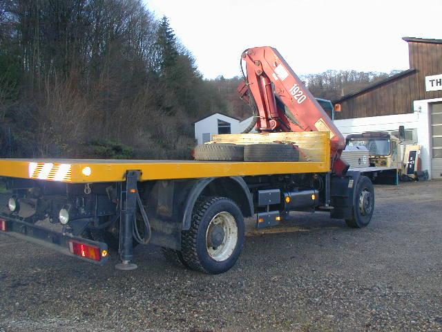 Thomaswagen mit Kran und Fahrstand für beide Fahrtrichtungen